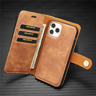 AU15.19 • Buy Magnet Wallet Card Stand Leather Case Cover For IPhone 12 Mini 11 Pro Max XS XR
