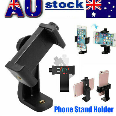 AU13.64 • Buy Universal Smartphone Tripod Adapter Phone Stand Holder Mount For IPhone Samsung