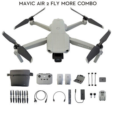 AU1859 • Buy DJI Mavic Air 2 Fly More Combo Drone W/ 4k Camera 34-min Flight Time 10km Newest
