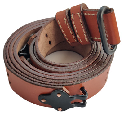 $19.88 • Buy Wwii Us M1 Garand Steel Rifle M1907 Leather Carry Sling