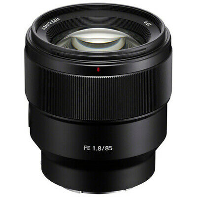 AU749.95 • Buy New Sony E-Mount 85mm F1.8 F Lens