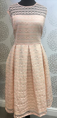 Lindy Bop Stunning BNWT Size 16UK Fully Lined Harlow Fit & Flare Swing Dress • 22.50£