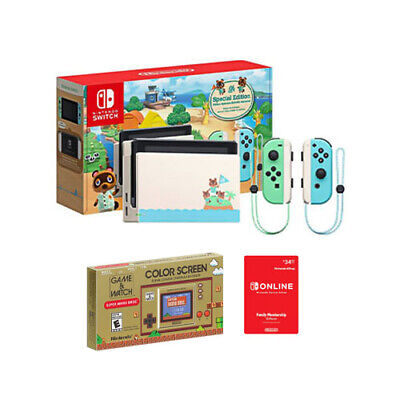 $ CDN485.81 • Buy Nintendo Switch Animal Crossing: New Horizons Special Edition Console Bundle