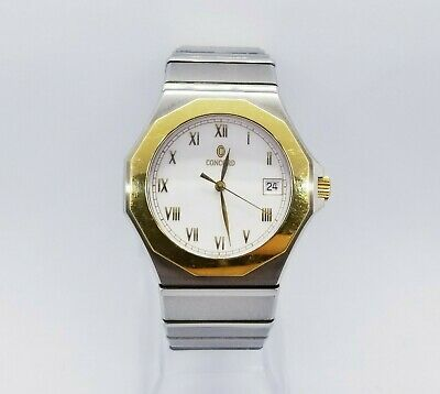 $899.99 • Buy Concord Mariner SG 2-tone 18kt Yellow Gold & Stainless Steel SG 500 15.78.110