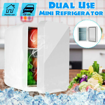 AU62.03 • Buy Mini 8L Fridge Car Home Dual Use Travel Refrigerator Cooler Freezer Camping New