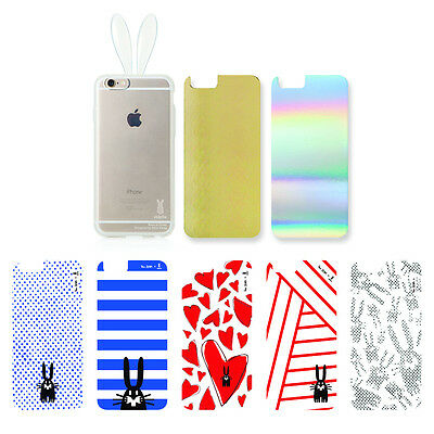 Rabito Peter Jensen Bunny Rabbit Ear IPhone 6S 6 Clear Transparent Cover Case • 26.84£