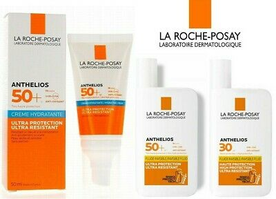£11.99 • Buy LA ROCHE-POSAY Anthelios SPF 30 Or SPF 50 Invisible Fluid Or Cream - NEW BOXED