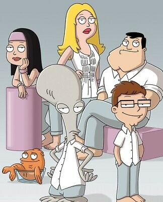 $ CDN5.11 • Buy American Dad! UNSIGNED 10  X 8  CAST Photograph - S4301 - Francine Smith