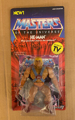 $39.95 • Buy Super7 He-Man Masters Of The Universe Vintage He-Man 5.5  Action Figure