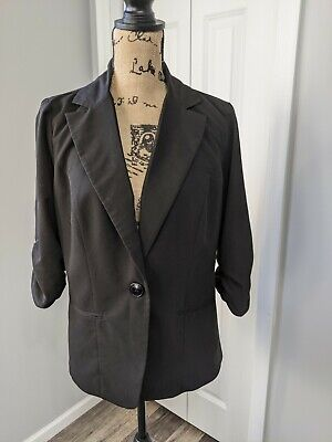 AU23.27 • Buy Women's Torrid Blazer Suit Jacket Size 0 XL Black