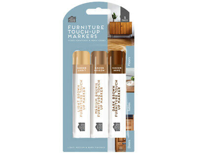 £2.25 • Buy 3 X Furniture Scratches Repair Kit Markers Touch Up Pen Paint Restore Wood Floor