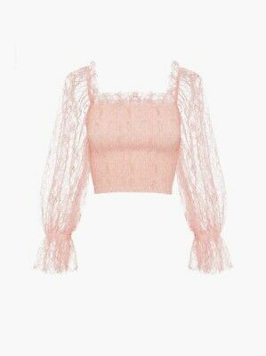 AU90 • Buy Alice Mccall Amora Pink Top Lace Size 4