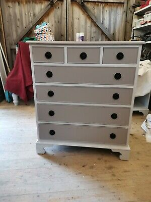 £100 • Buy Upcycled Solid Wood Chest Of Drawers