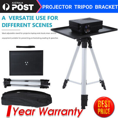 AU39.99 • Buy 4-Level Aluminum Tripod Projector Laptop Computer Stand With Plate And Carry Bag