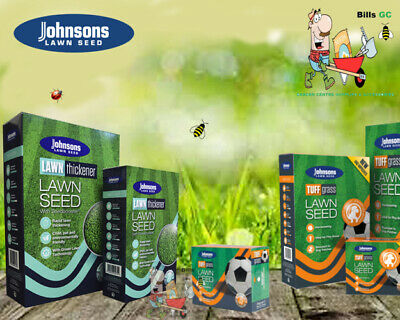 £7.88 • Buy Johnsons Lawn Seed Grass Seed Tuffgrass-After Moss-Quick Lawn