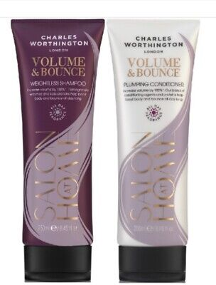 £15.95 • Buy Charles Worthington VOLUME & BOUNCE Shampoo And Conditioner Due