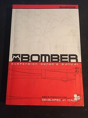 £6 • Buy Marzocchi Bomber Forks 2005 Owners  Manual, Marzocchi Mountain Bike Forks.
