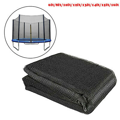 AU124.52 • Buy Replacement Trampoline Safety Enclosure Net Protective Mesh Netting 10 Sizes