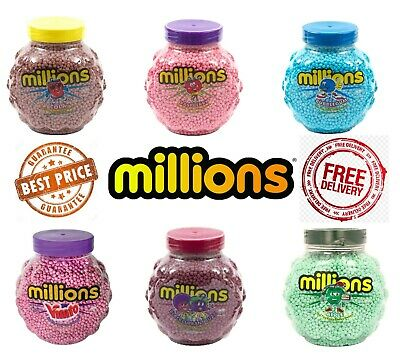 £2.59 • Buy Millions Chewy Sweets Pick N Mix Candy Vegetarian Wedding Party Cone Filler Tub