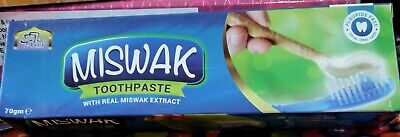 £6 • Buy Miswak Toothpaste With Real Miswak Extract