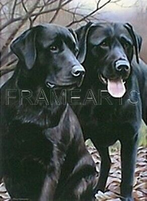 £27.95 • Buy Nigel Hemming, Ready For Collection, (Black Labradors), Limited Edition Print