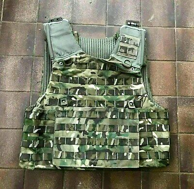 £24.95 • Buy British Army Osprey MTP Molle Plate Carrier Vest With Ops Panel Size XLarge
