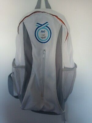 £4 • Buy Childrens Olympic White Backpack Suit Young Child