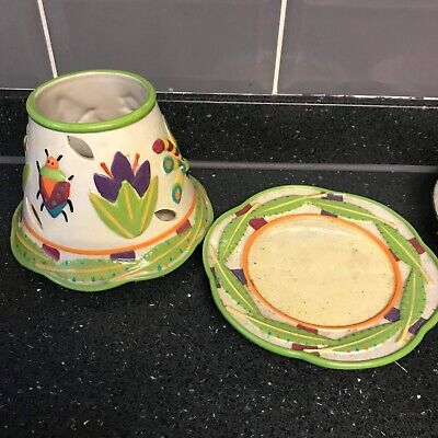 Yankee Candle Shade And Saucer • 15£