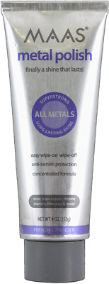 $36.28 • Buy Maas Concentrated Metal Cleaning & Polishing Creme, 113g