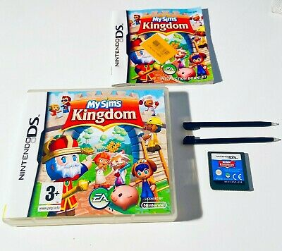 £6.99 • Buy My Sims Kingdom - Nintendo DS MySims Video Game DSi XL 2DS 3DS DS + Stylus Pen