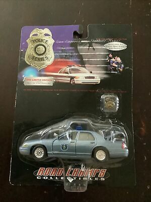 $25 • Buy New 1999 Road Champs Police Series Maine State Police Car Scale 1/43 Pin
