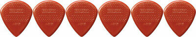 AU6.44 • Buy 6 X Dunlop Max Grip Jazz 3 Red Nylon Gauge Guitar Picks Jazz III