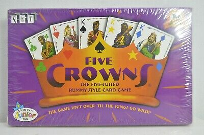 AU6.44 • Buy Five Crowns 5 Suited Rummy Style Card Game Set Enterprises Family Playing A-3