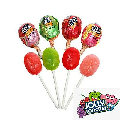 £14.99 • Buy 50 Jolly Rancher Filled Lollipop Candy American Sweets USA Import All Flavours