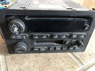 $11.65 • Buy 03 04 05 06 Chevy Trailblazer Silverado Gmc Envoy Sierra Am/fm Radio Cd Player