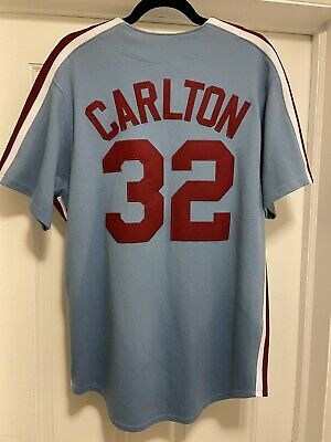 $79.99 • Buy Majestic Cooperstown Collection Steve Carlton #32 Philadelphia Phillies Jersey M