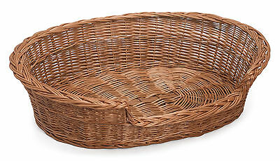 £26 • Buy Willow Wicker Pet Basket Various Sizes Available