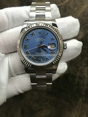 $ CDN11518.86 • Buy Rolex Datejust II 116334 Blue Dial Automatic Men's Watch
