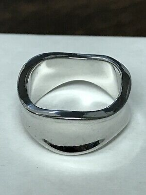 $ CDN11.21 • Buy Lia Sophia  Capricious  Silver Tone Ring Size 7, Preowned As Is, Good Condition