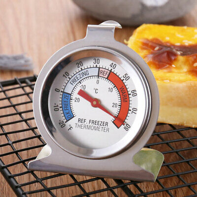 AU9.45 • Buy Temperature Thermometer Measure Stainless Steel Dial Type Fridge Freezer Tools