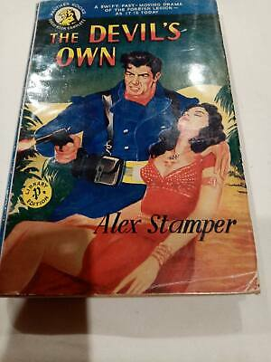 £25 • Buy The Devils Own By Alex Stamper, 1953 RARE, Panther Books, French Foreign Legion