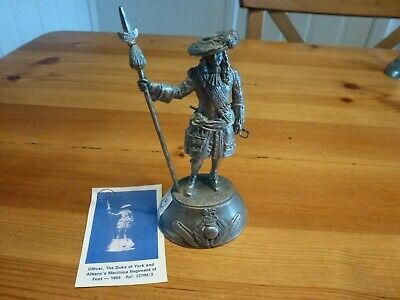 £35 • Buy Charles C. Stadden Sculpted Military Figurine By Buckingham Pewter Of England