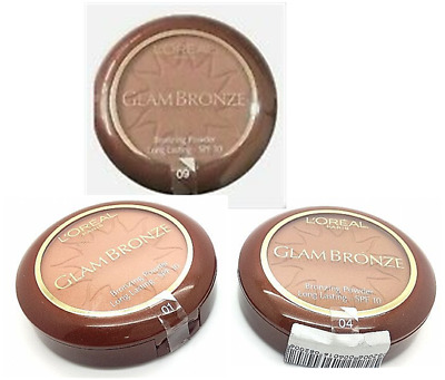 £4.75 • Buy L'Oreal Glam Bronze Bronzing Powder Compact - Choose Your Shade