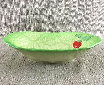£36 • Buy Beswick Cabbage Leaf Bowl Majolica Tomatoes Salad Serving Dish