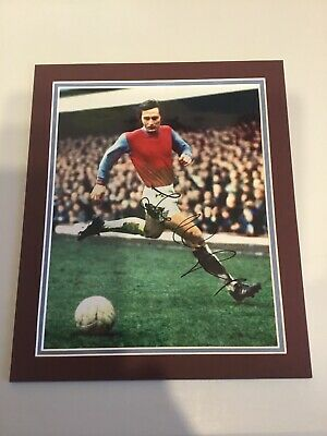 £15 • Buy Frank Lampard West Ham Utd Signed And Mounted Photo With C.o.a.