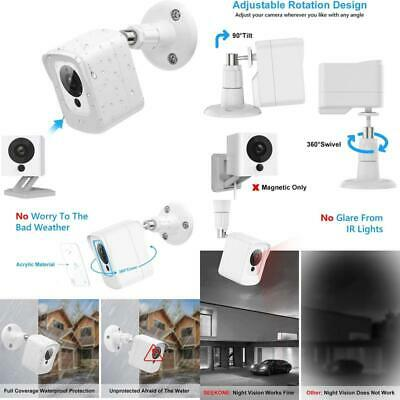$ CDN19.42 • Buy Seekone V1 V2 Protective Case For Wyze Cam With Wall Mount Bracket, 360° Protec