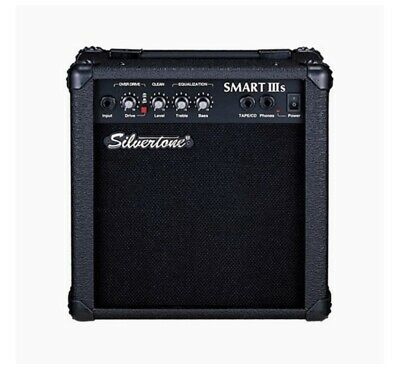 "$ CDN60.45 • Buy New Silvertone Smart IIIs Guitar Potable Amplifier With EQ 26 Watts 6.5"" Woofer"