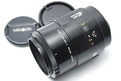 AU154.55 • Buy MINOLTA 100mm MACRO F/2.8 AF Lens For SONY A Mount From Japan #Y91