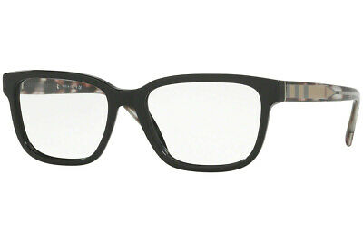 $86 • Buy Authentic BURBERRY Rx BE2230-3001 Eyeglasses Black *NEW*  53 Mm