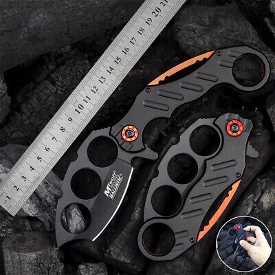 AU48.99 • Buy MTech Claw Folding Knife Survival Camping Fishing Knife Hunting Pocket Knife 282